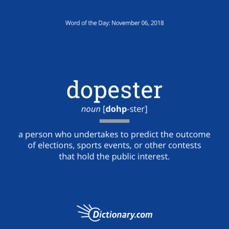 dopester: word of the day