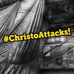 Chicago behind the curtain: Christo Attacks!