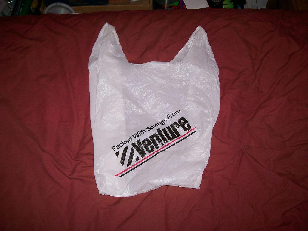 Venture plastic bag