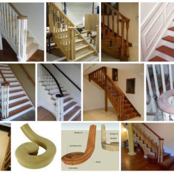 Volute stairs