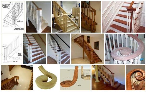 Volute stairs