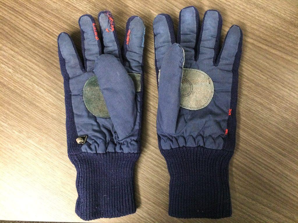 Twenty year old gloves