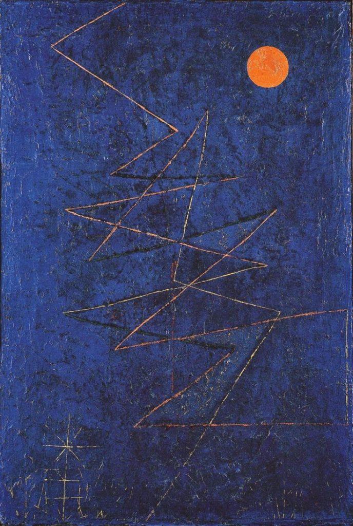 Rayo multicolor, 1927, Paul Klee