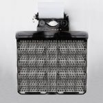 What is the world record for most keys on a typewriter?