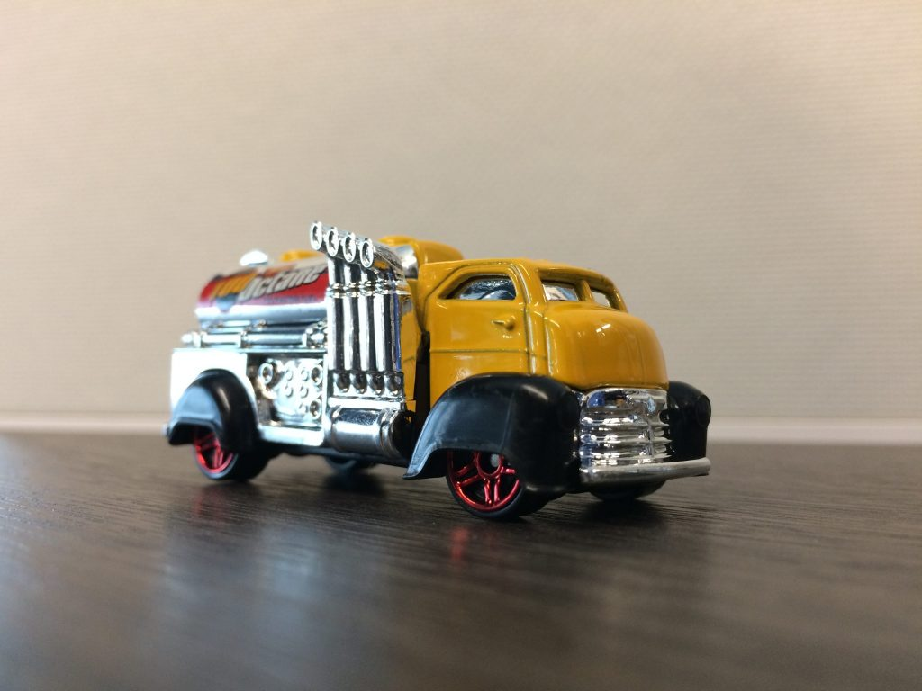 "Hero shot of Hot Wheels ""Fast Gassin"""