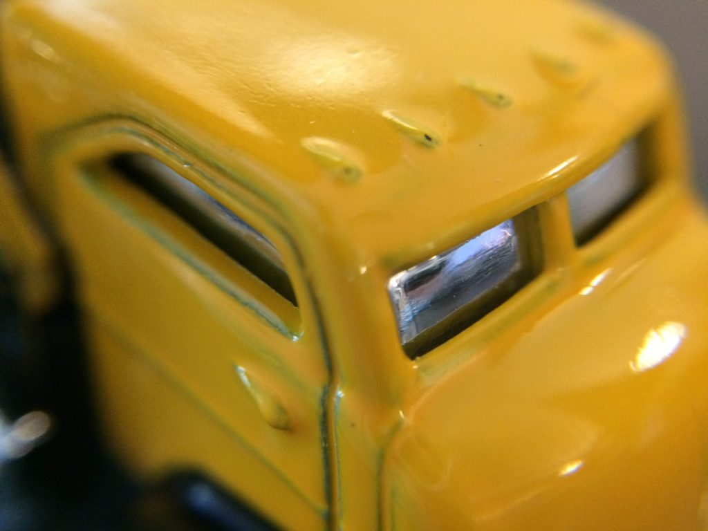 "Macro of the cab: Hot Wheels ""Fast Gassin"""