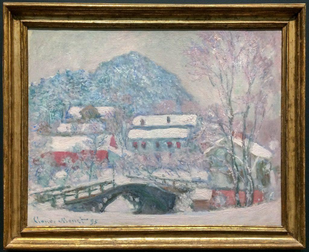 """Claude Monet """"Sandvika, Norway"""" at Art Institute of Chicago"""
