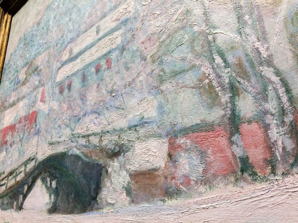 """Texture of Claude Monet """"Sandvika, Norway"""""""