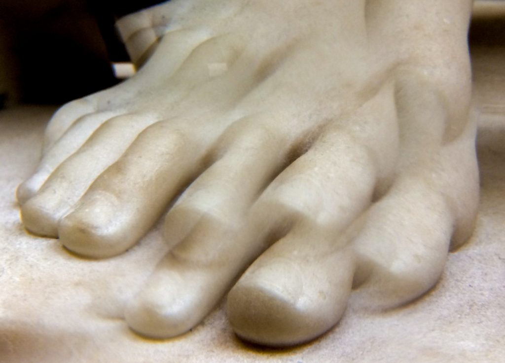 Nydia, The Blind Flower Girl of Pompeii (foot through kaleidosco
