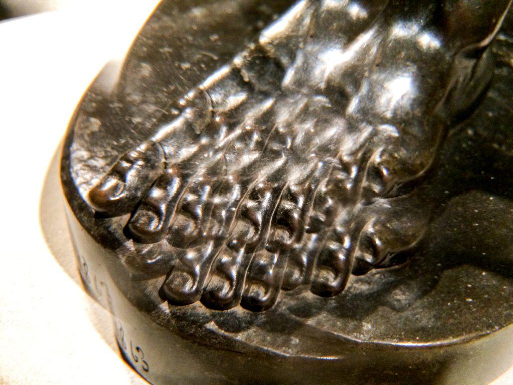 The Freedman (foot through kaleidoscope lens)