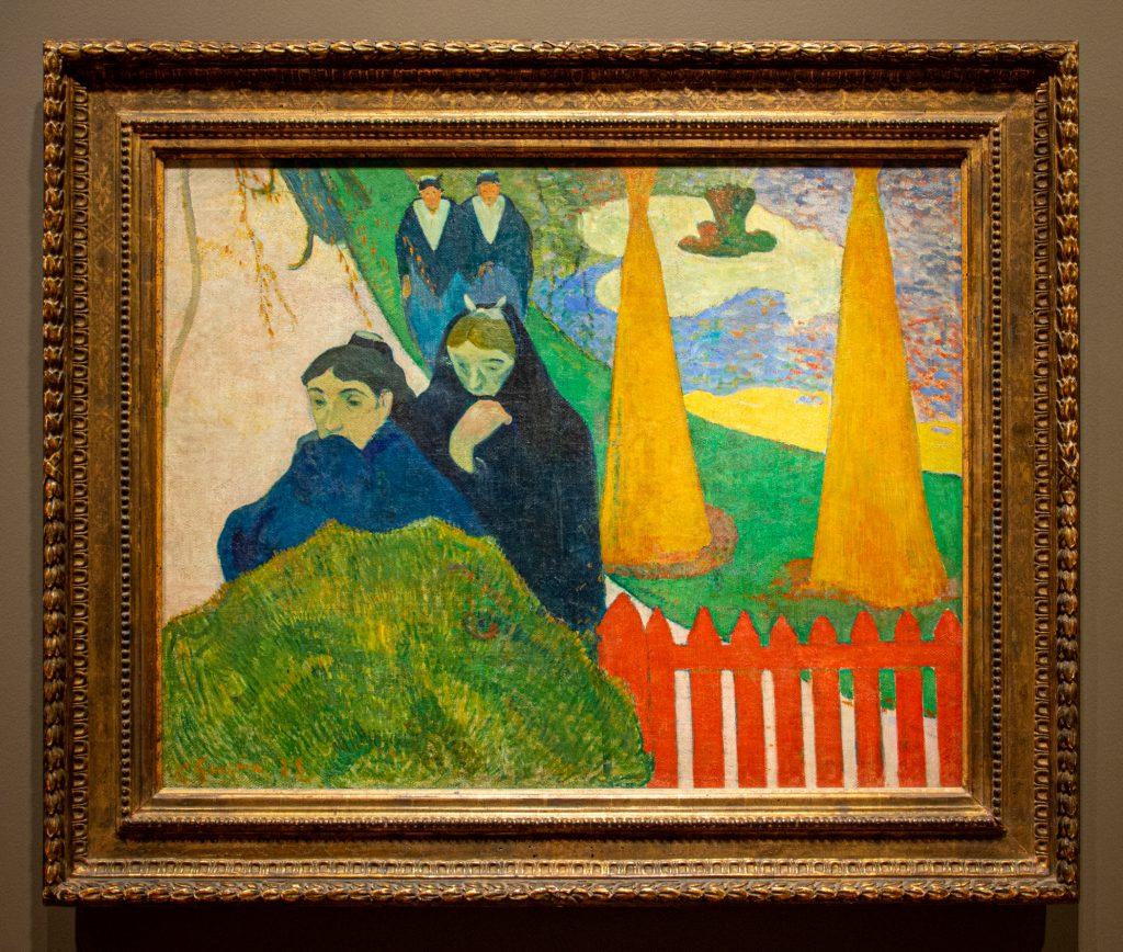 """Arlésiennes (Mistral)"", 1888 by Paul Gauguin"