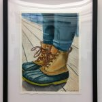 The shoes of Chicago by Vickey Tesmer