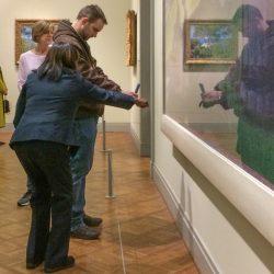 Fun art museum security guards