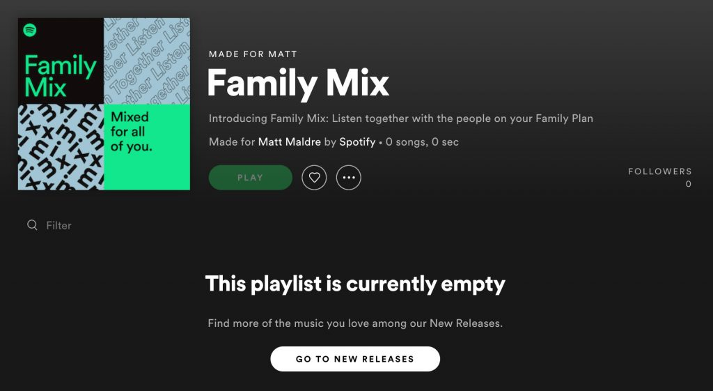 Spotify Family Mix: Listen together with the people on your Family Plan