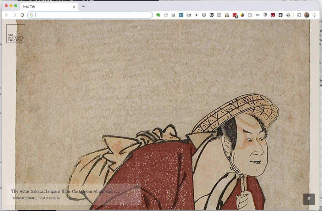 The Actor Sakata Hangoro III as the Groom Abumizuri no Iwazo in