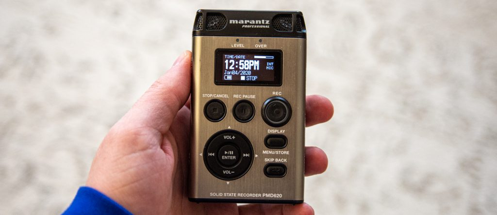 Marantz solid state recorder PMD620