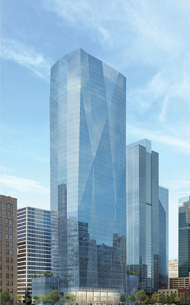 130 North Franklin Street Chicago building rendering