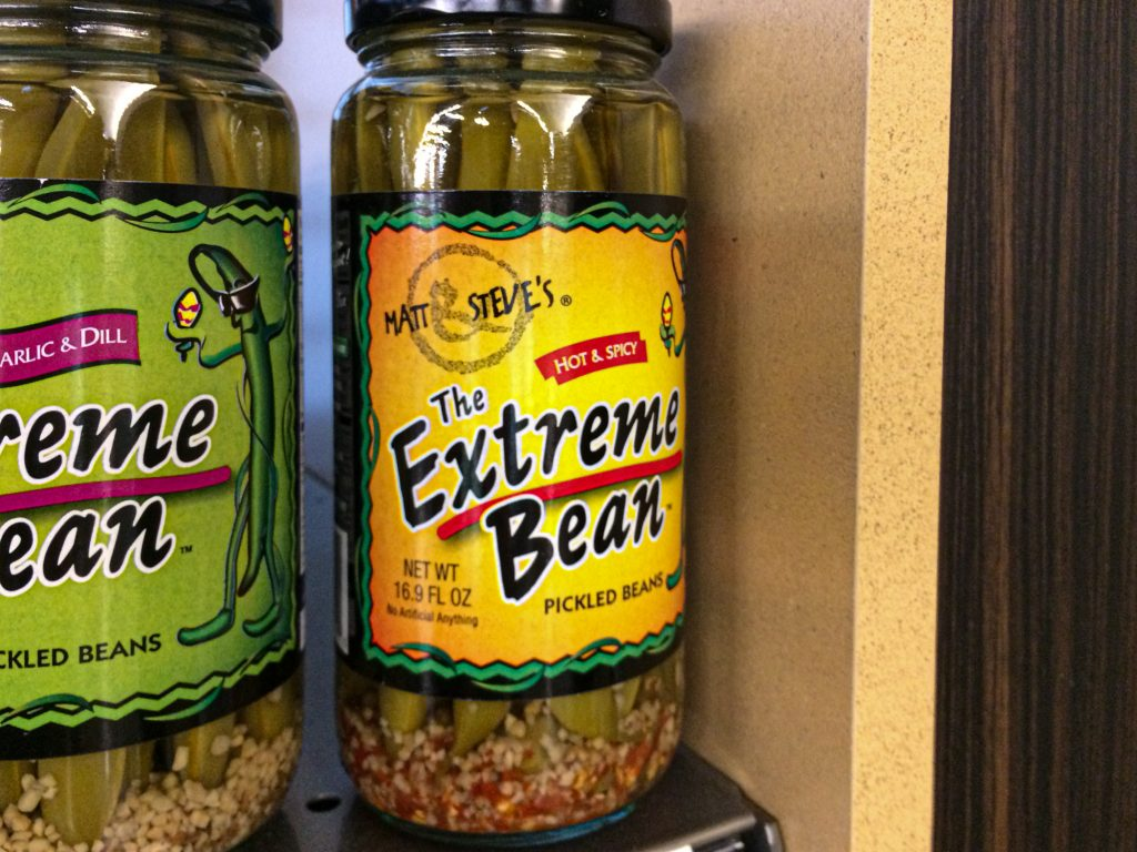The Extreme Bean Pickled Beans (Hot & Spicy) by Matt & Steve's
