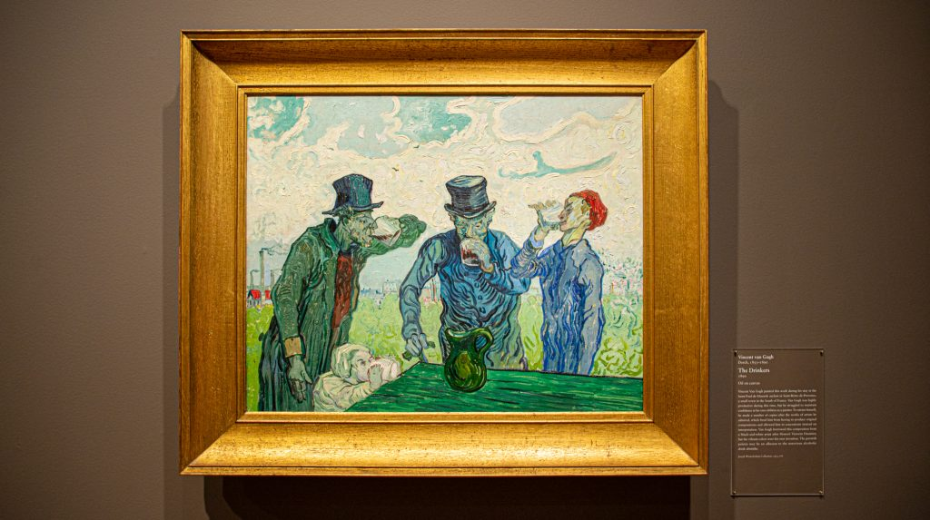 "Vincent van Gogh's ""The Drinkers"" at the Art Institute of Chicago"