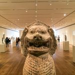 The third guardian lion at the Art Institute of Chicago