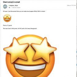 giant-emoji-in-email-body