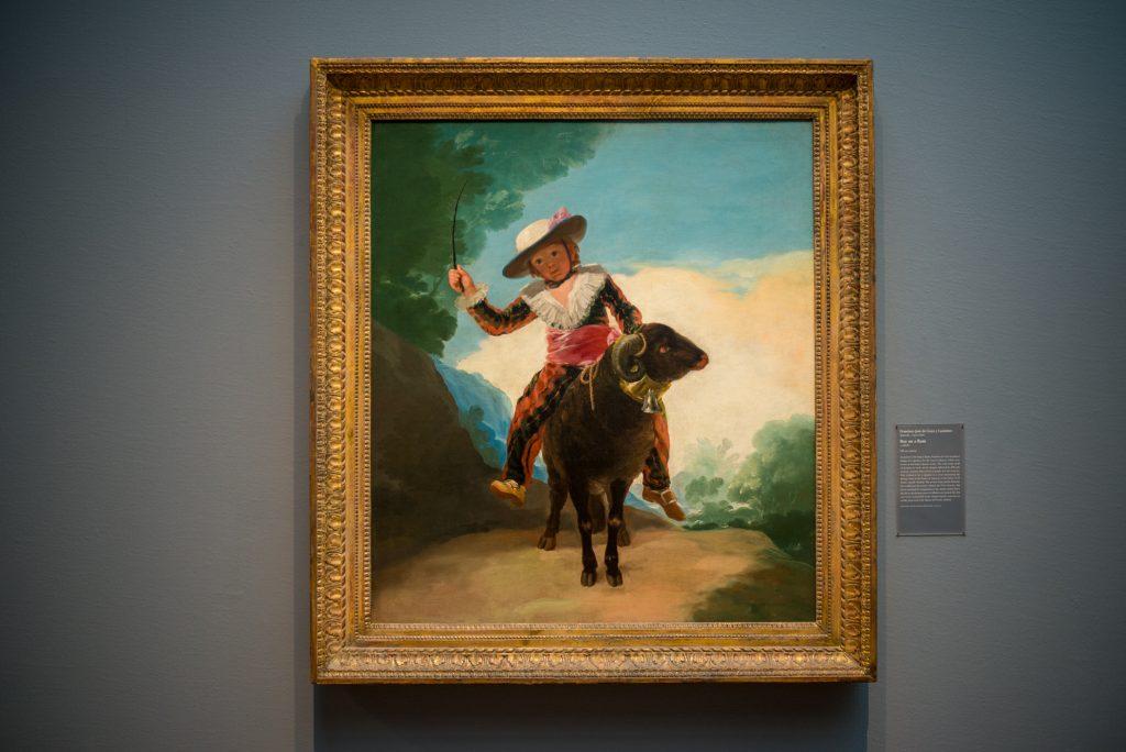 """Boy on a Ram"" by Francisco José de Goya y Lucientes, 1786/87"