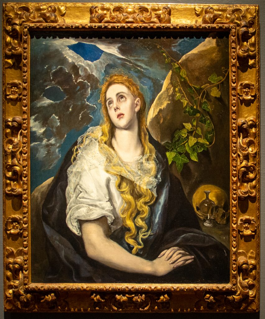 """""""The Penitent Magdalene"""" by El Greco"""
