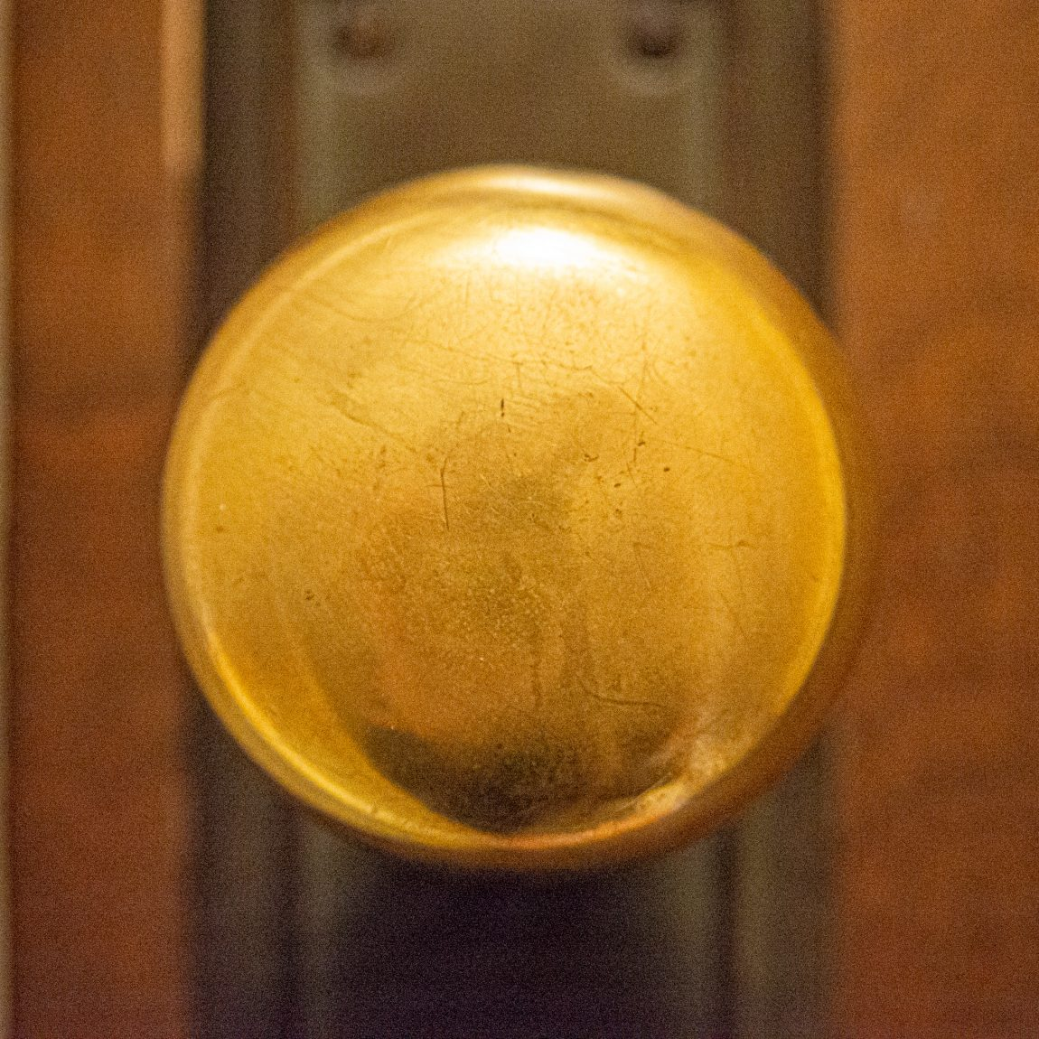 Door knobs of my house: 1st floor staircase, inside
