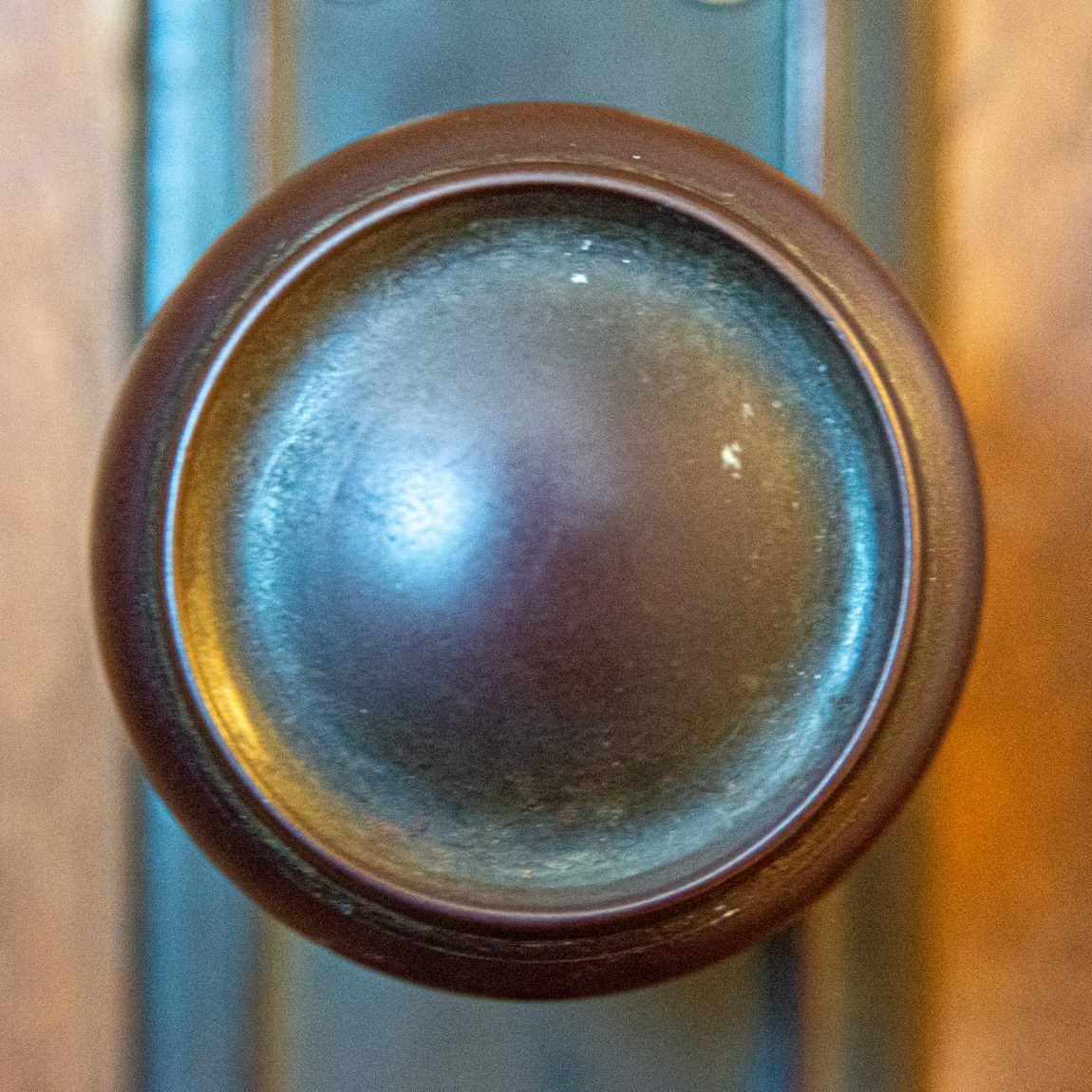 Door knobs of my house: basement, inside