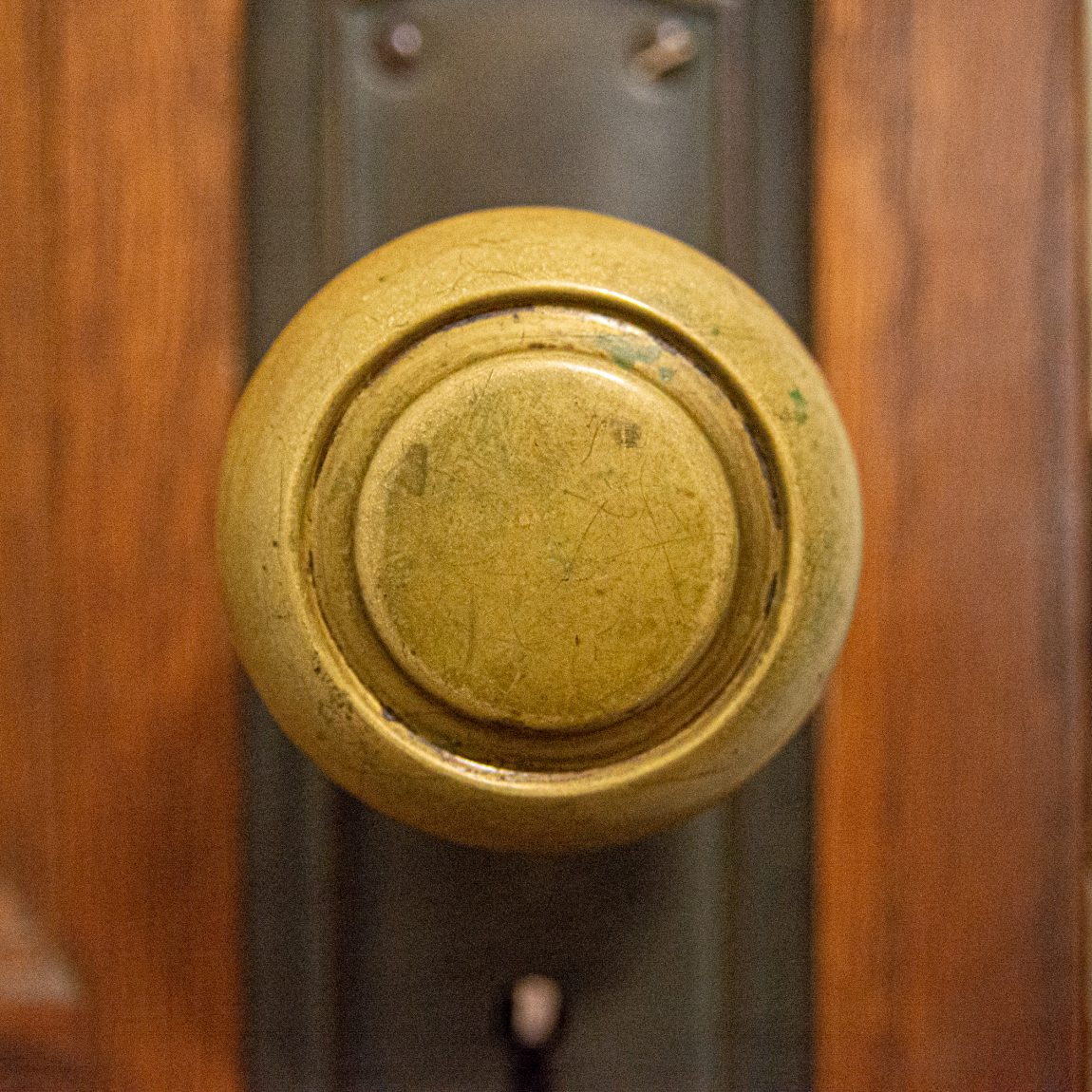 Door knobs of my house: toy room, inside