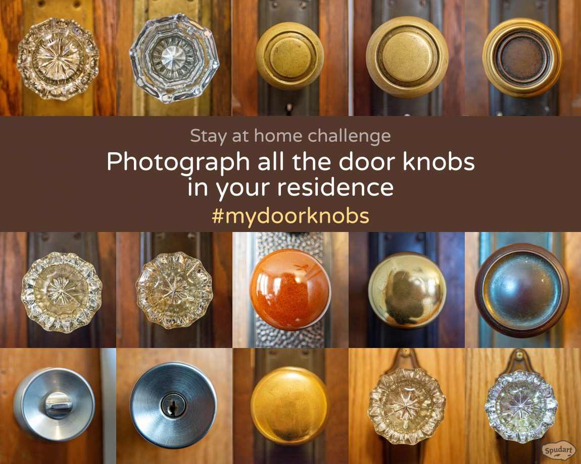 Stay at home challenge - Photograph all the door knobs in your residence 1