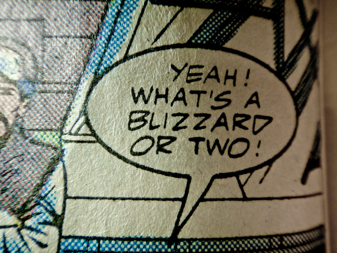Yeah! What's a blizzard or two! (G.I. Joe Special Missions #20.