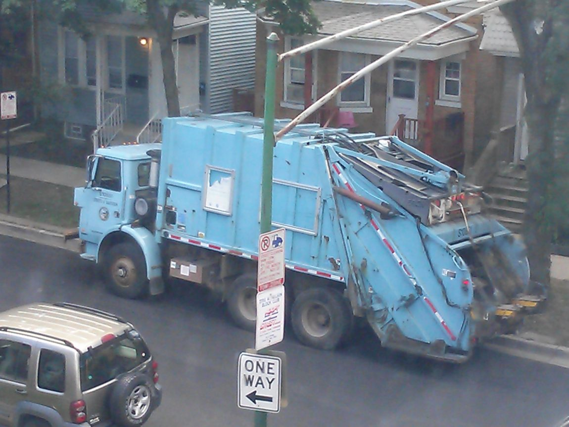 Chicago Garbage Truck by Arvell Dorsey Jr.