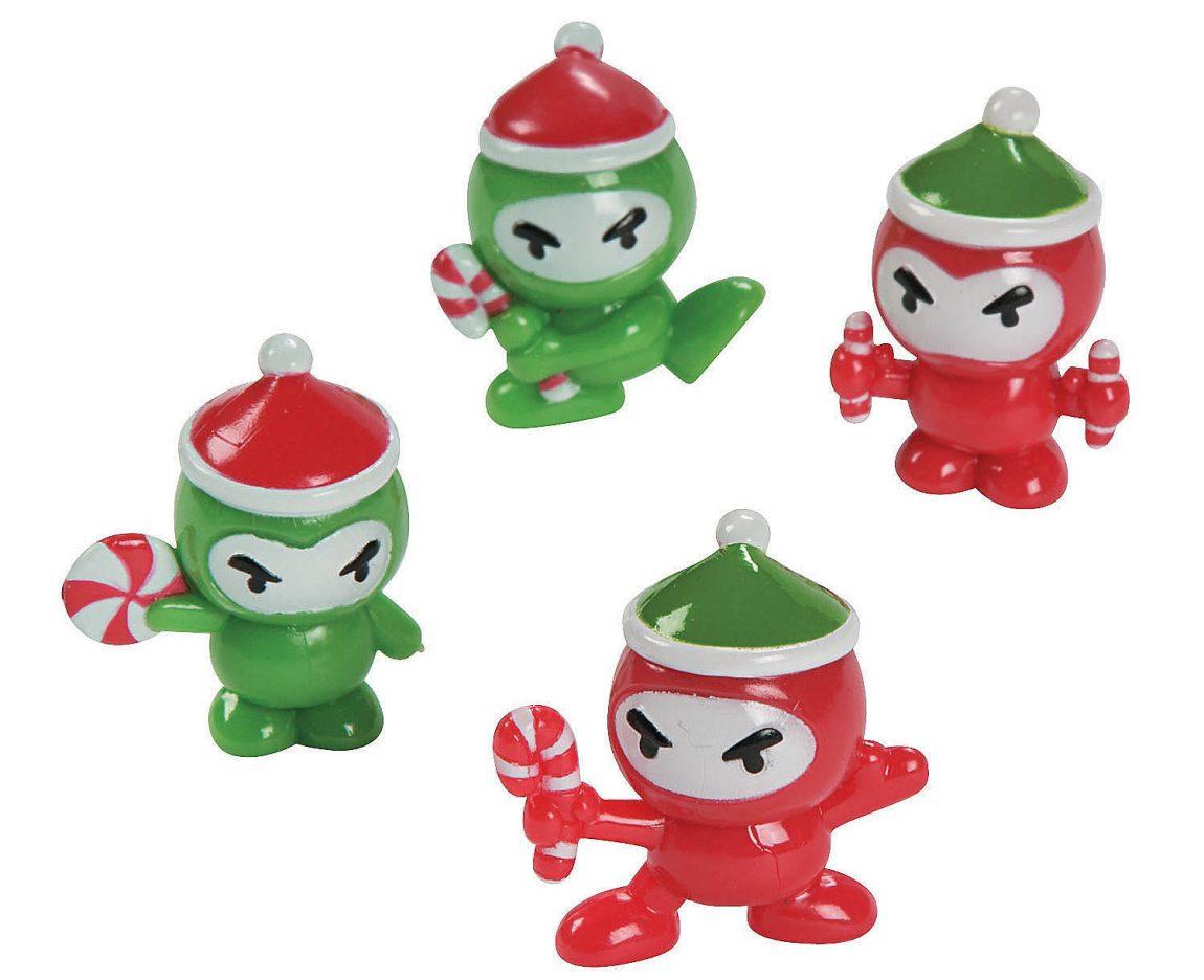 Christmas ninja toys