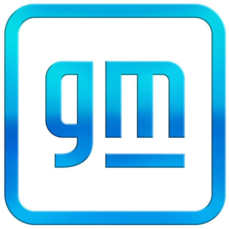New 2021 General Motors logo