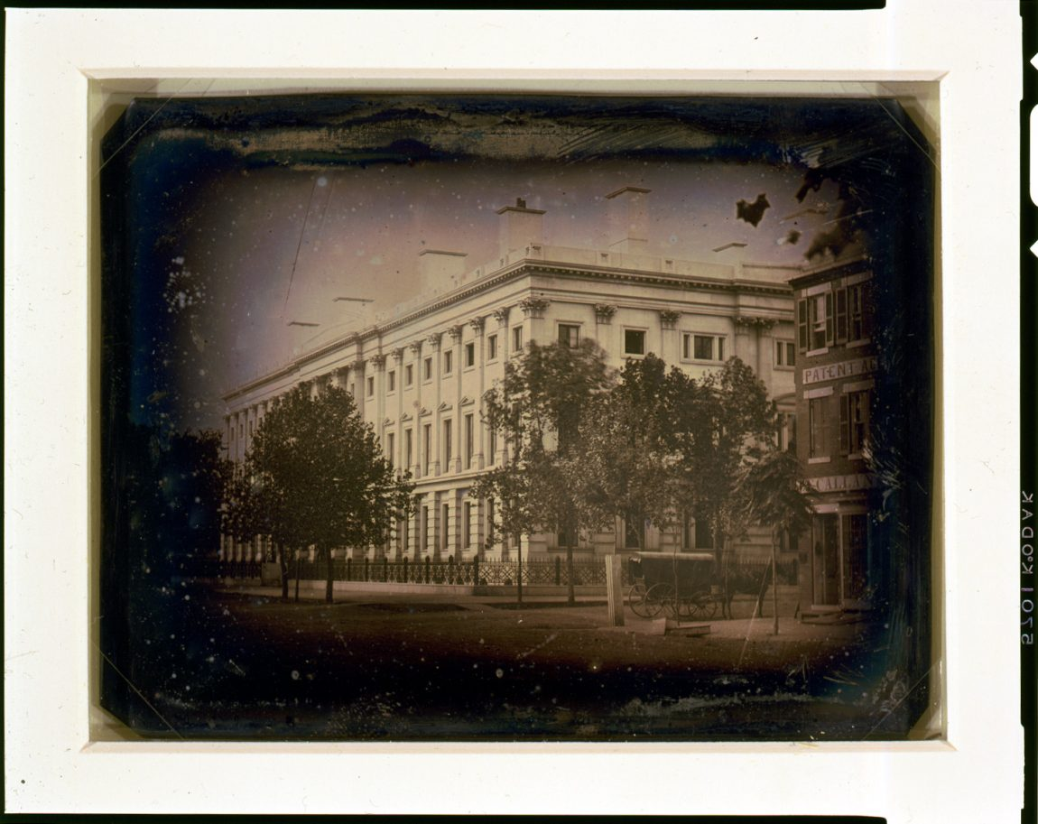 General Post Office from the corner of 7th Street and E Street, NW, Washington, D.C.