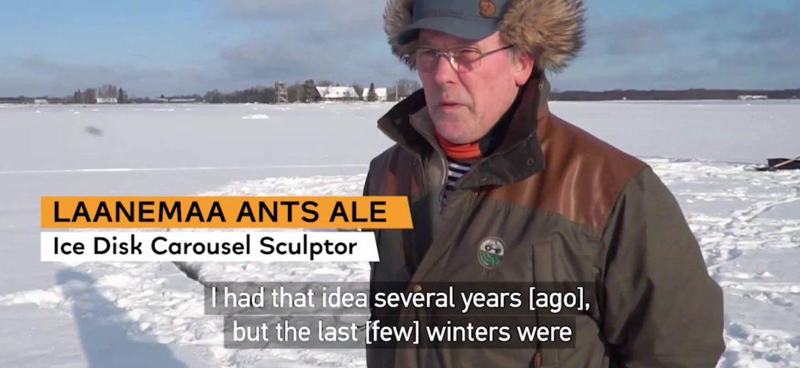Frame from video: Laanemaa Ants Ale talking