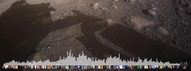 First Mars audio recording