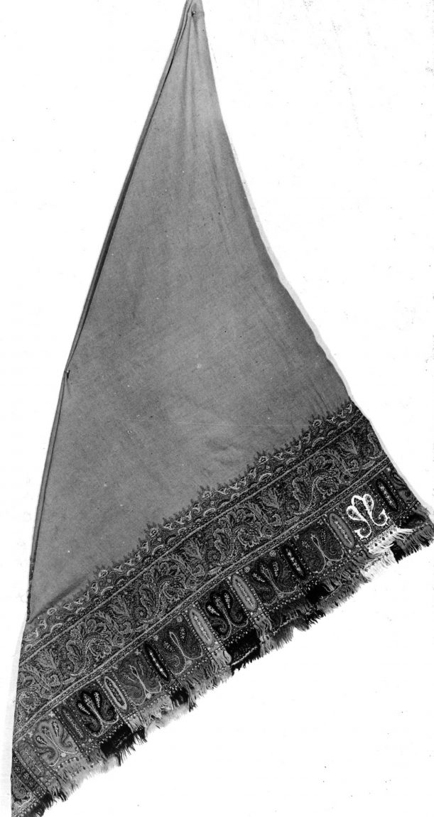 Indian Shawl, 1850/1860 from Art Institute of Chicago