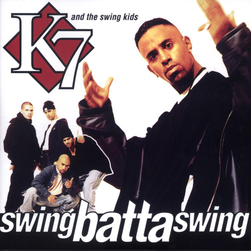 """K7 """"Swing Batta Swing"""" album cover from 1993"""